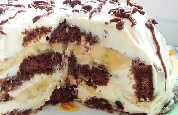 Необыкновенно вкусный торт без выпечки