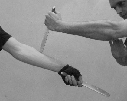 Афиша Владивосток GRF! Обратный хват в ножевом бое.