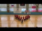 Red wave | ИФО МГСУ 1ый выход Соревнования по ритмической гимнастики 22.04.2015