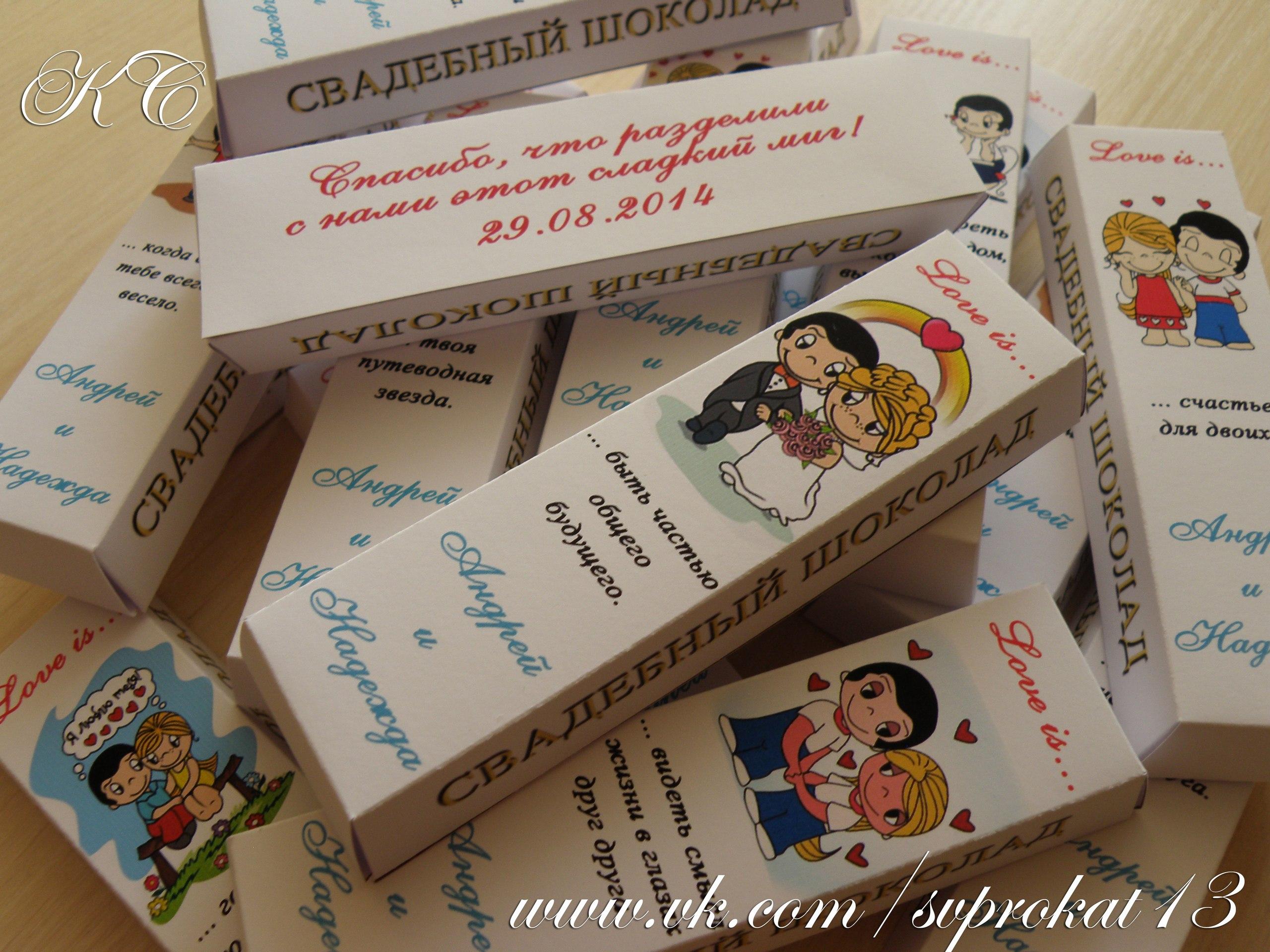Подарки гостям на свадьбе от молодоженов за конкурсы