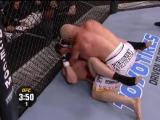 В одном из самых ожидаемых боев в истории UFC, Тито Ортис одержал победу техническим нокаутом над Кеном Шемроком