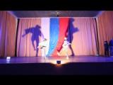 Танцы со спортсменами - Гацкий Денис и 13 отряд (4 смена 2015 год)