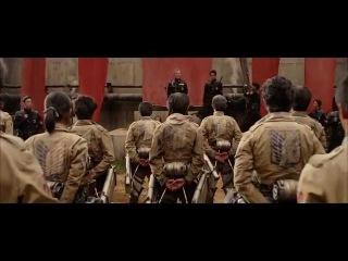 Shingeki No Kyojin Live Action Movie Trailer #3 (MANEUVER GEAR ACTION REVEALED!)「進撃の巨人 立体機動予告編