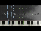Interstellar - Main Theme - Hans Zimmer (Synthesia Piano Tutorial)