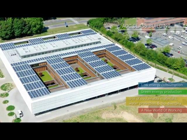 AGC Glass Building - a nearly zero-energy building