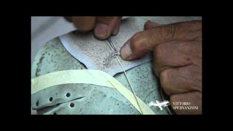 Vittorio Spernanzoni - the reverse seam or skin stitching - cucitura a rovescio