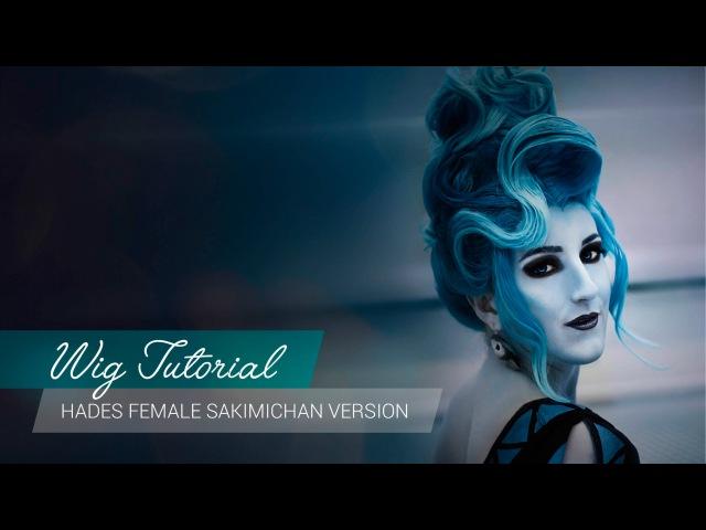 Wig Tutorial - Hades Disney Female (Sakimichan Version) [ENG] | JakCosplay