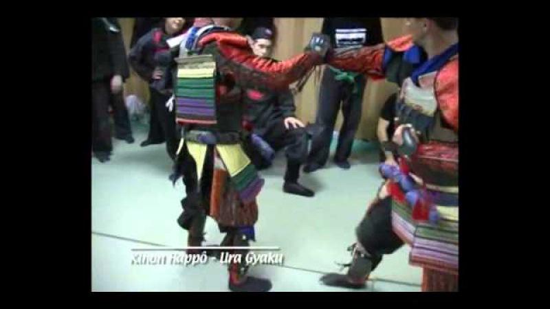 Gyokko Ryu KoshiJutsu Yoroi Kihon happo ura gyaku Pedro Fleitas