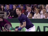 HD Andy Murray vs Donald Young Highlights DAVIS CUP 2015