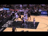 Tiago Splitter Denies Dwyane Wade at the Rim