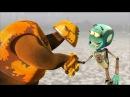 Мультик про роботов - короткий смешной мультфильм для детей