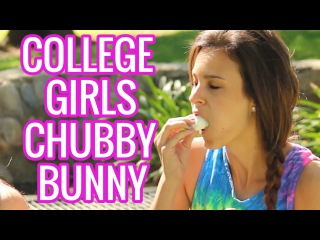 SimpleSexyStupid - College Kids Doing the Chubby Bunny Challenge