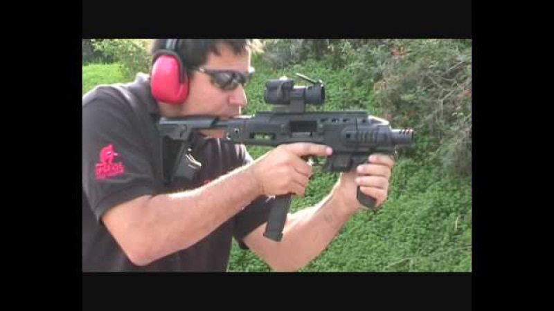 CAA TACTICAL - RONI - The pistol-carbine conversion