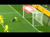 Украина Македония 1:0 гол Сидорчука