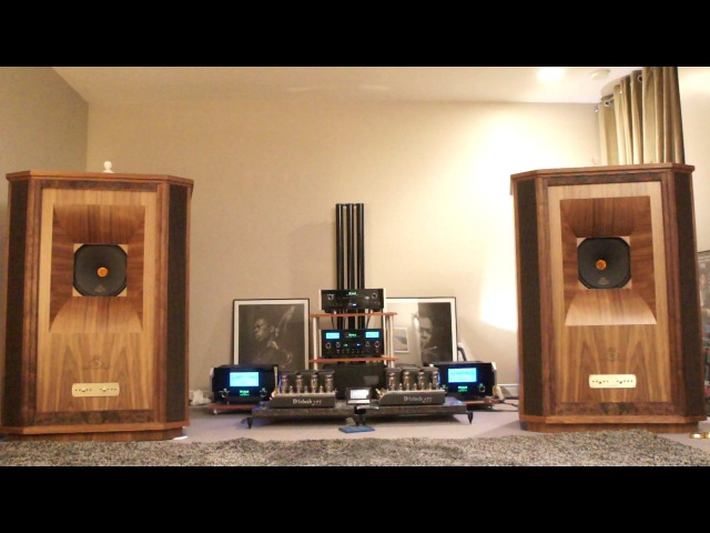 Tannoy Westminster Royal Gold Reference with McIntosh