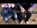 House of the rising sun - pARTyzant &amp Miki ( guitar pencils drumming )