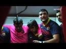 FCB Rugby Arenga del capitán en el vestuario