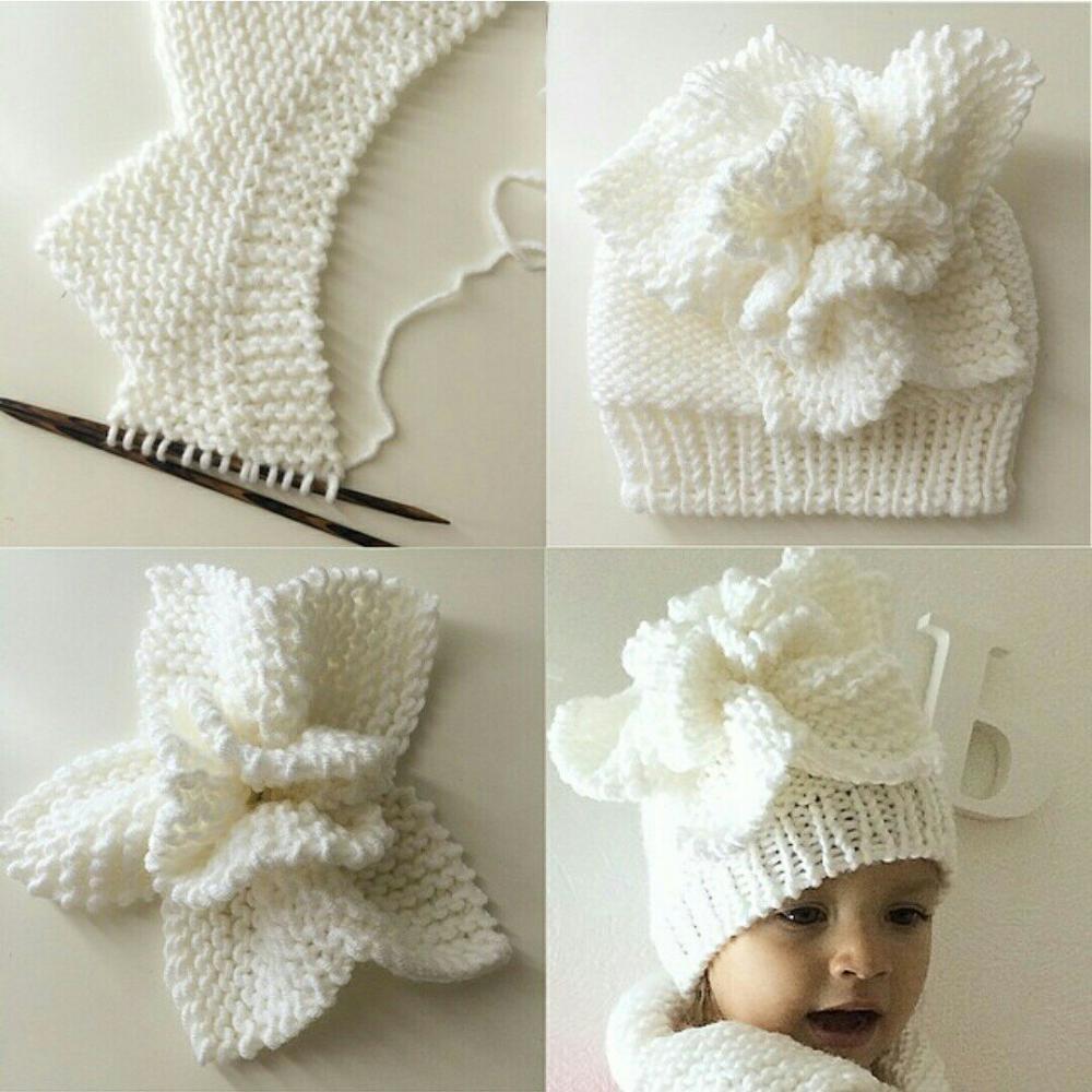 Как связать цветок украшение для шапочки