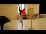 Natalie Kusch. Завтрак балерины Breakfast ballerina