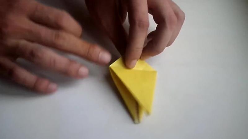 оригами цветок лилия из бумаги для начинающих своими origami paper lily flower