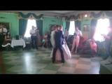 Первый брачный танец !!!