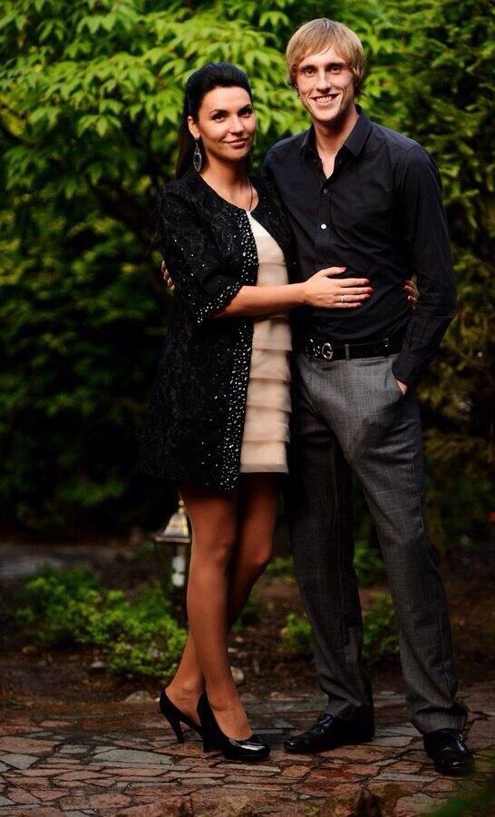 Павел с женой Еленой