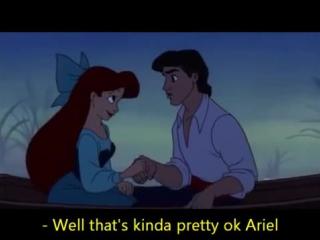 The Little Mermaid - Kiss De Girl - Lyrics - MrsDisney0