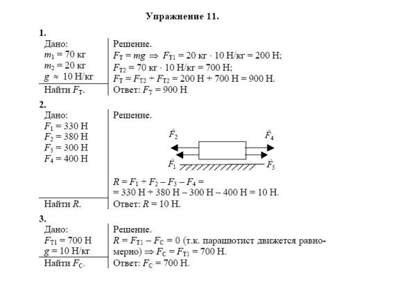 Гдз по физике 7 класс а.в перышкин