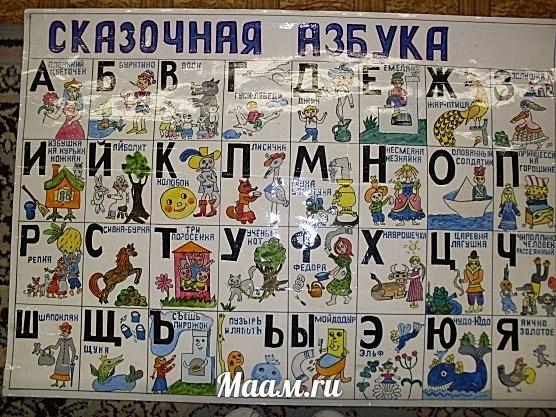 Сделать азбуку для 1 класса