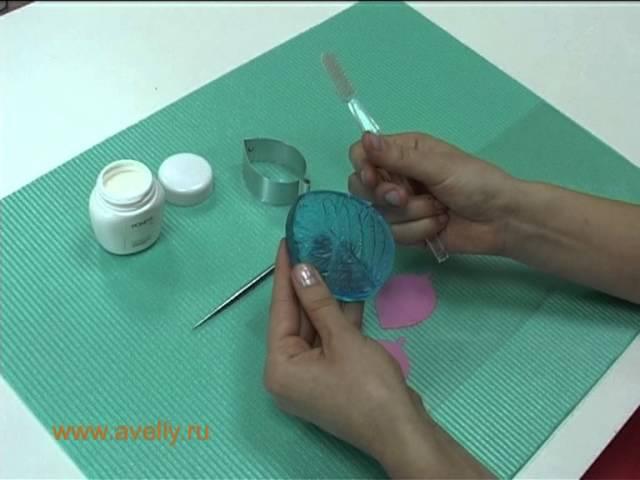 как пользоваться формами и текстурами полимерная глина