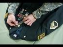 Армия США 6 Парадная форма американского солдата нашивки шевроны орденские планки