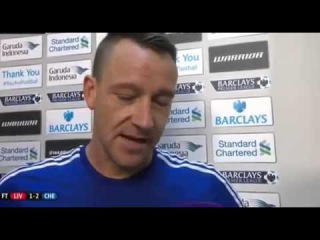 Liverpool 1-2 Chelsea ~John Terry & Nemanja Matic Post Match Interview~ 11/08/2014