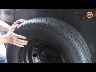 Держатель запасного колеса Peugeot Boxer L3H3, L4H2, L4H3 2006-2013 г.в. (russ-artel.ru)