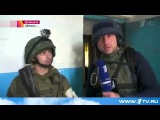 Корреспондент российского Первого канала снимает сюжет о том, как донецкие террористы обстреливают из жилого дома украинских воинов и удивляются, что наша артиллерия отвечает.