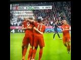 El gesto de Guardiola ante los cinco goles de Lewandowski en 9 MINUTOS.
