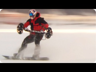 Snowboarding with Jet Engines | Sport of the Future
