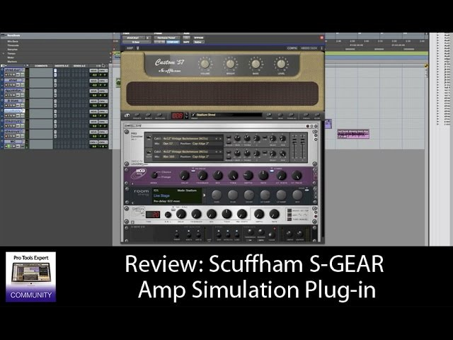 Review Of Scuffham S-GEAR Amp Simulation Plug-in