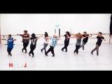 'Uptown Funk' Mark Ronson ft. Bruno Mars choreography by Jasmine Meakin (Mega Jam)