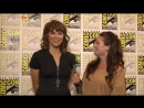 Actress Lucy Lawless Discusses Starz Spartacus,Vengeance Show