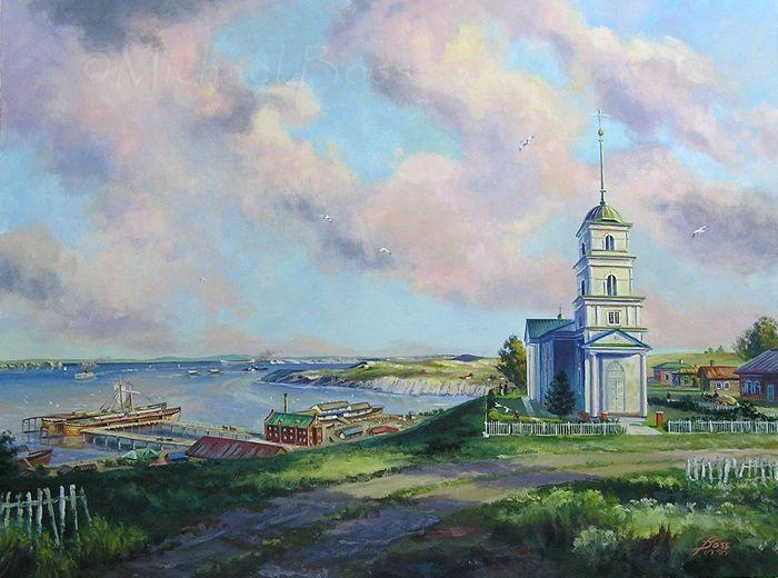 Картина художника Михаеля Босса «Schilling, Russia»