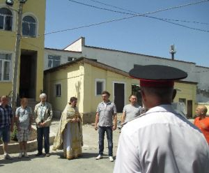 Бахчисарайские казаки молебном и минутой молчания почтили память Алексея Мозгового (ФОТО)