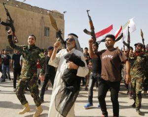 Исламские террористы на остатках Украины