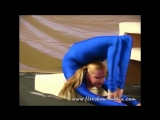 Beautiful Girl Lika Exercises Her Great Contortion Stretching  Bending