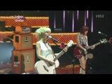 AOA Black - Moya @ Music Bank 02.08.2013