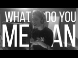 Justin Bieber - What Do You Mean (Bars and Melody Cover)