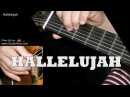 HALLELUJAH by Leonard Cohen: Fingerstyle Guitar TAB by GuitarNick