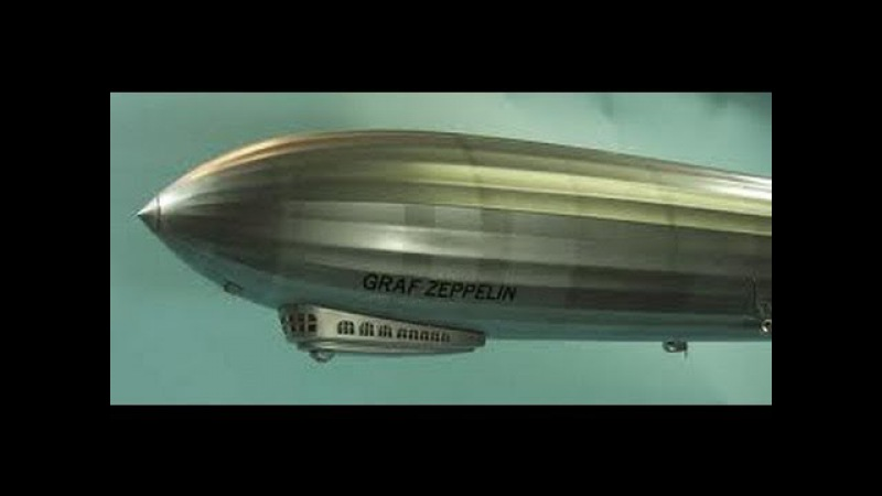 Graf Zeppelin 1929 Around Globe Trip Full Documentary