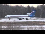 Ту-154М RF-85135 руление и взлёт Tu-154M RF-85135 taxiing and takeoff