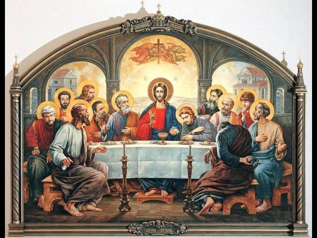 Вечери Твоея тайныя днесь Сыне Божий.Хор Московского Сретенского монастыря