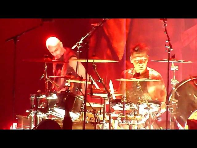 RAMMSTEIN - ASCHE ZU ASCHE (Schneider on the drums), 03.02.2012, Hannover, TUI-Arena